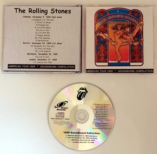Rolling Stones - Soundboard Collection 1969 - CD