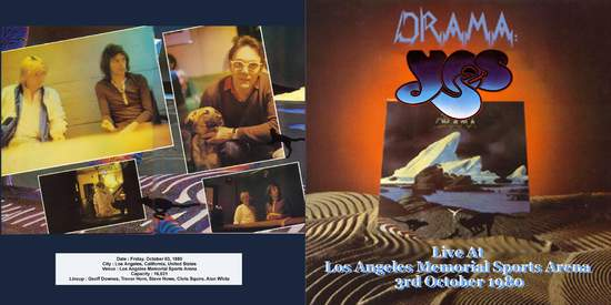 Yes - Los Angeles 1980 - CD