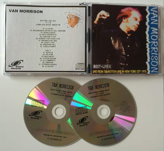 Van Morrison - Bottom Line Ny 1978 Complete - CD