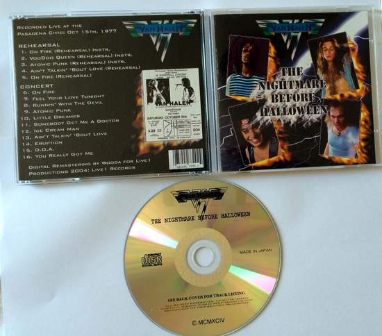 Van Halen - Nightmare Before Halloween - CD