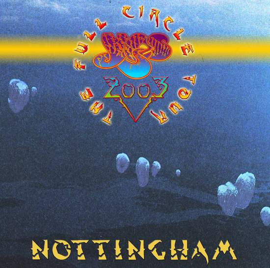 Yes - Nottingham 2003 - CD