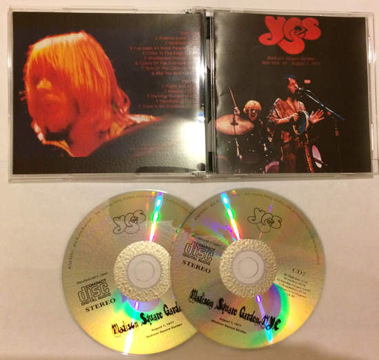 Yes - New York Msg 1977 - 2CD