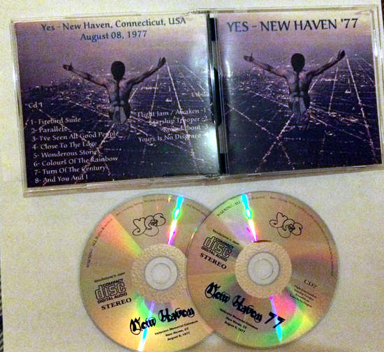 Yes - New Haven 77 First Night - 2CD