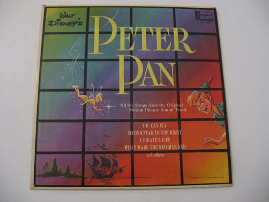 Walt Disney - Peter Pan - Magic Wipe Off Copy! - LP