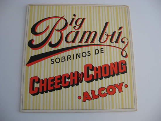 Cheech & Chong - Big Bambu - LP
