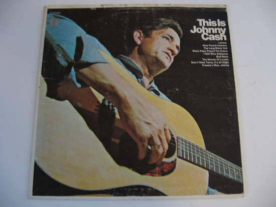 Johnny Cash - This Is Johnny Cash - LP