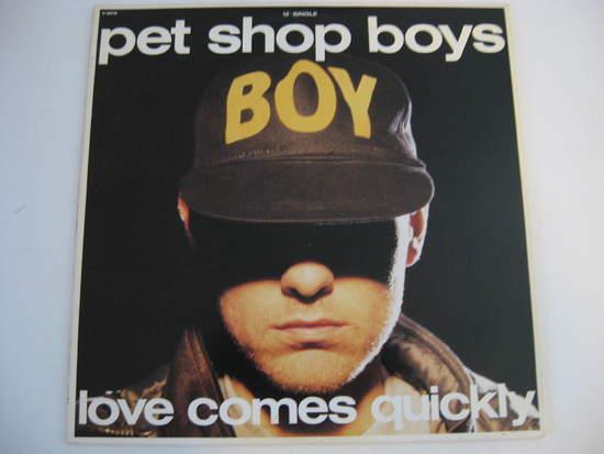 Pet Shop Boys - Love Comes Quickly - LP