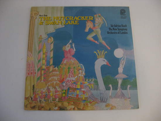 New Symphony Orchestra Of London - The Nutcracker & Swan Lake - LP