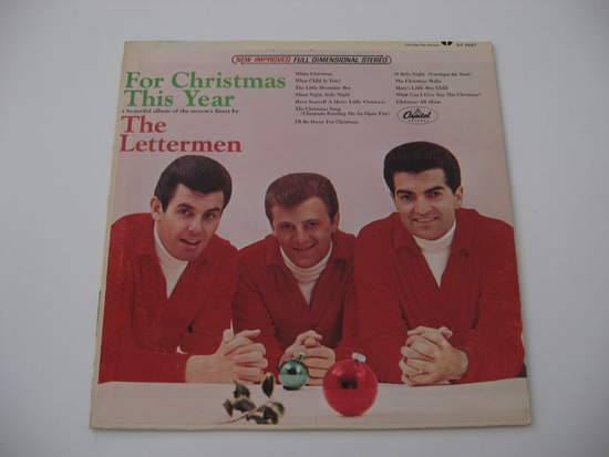 Lettermen - For Christmas This Year - LP