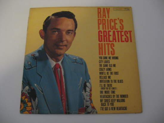 Ray Price - Greatest Hits - LP