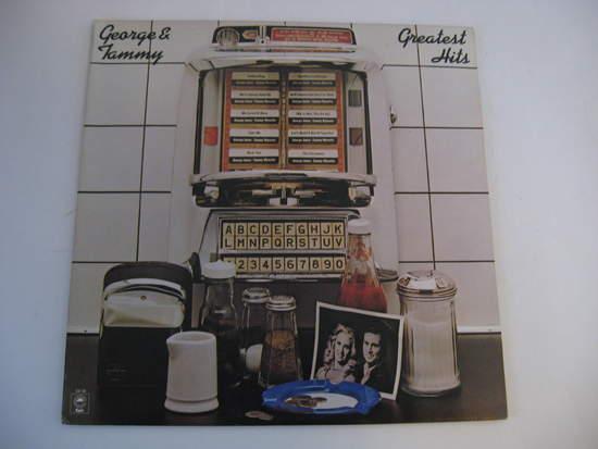 George Jones & Tammy Wynette - Greatest Hits - LP