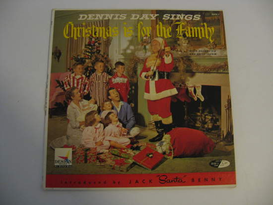 Dennis Day & Jack Benny - Christmas Is For The Family - LP