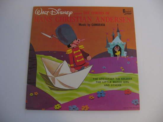 Walt Disney - Hans Christian Anderson - LP