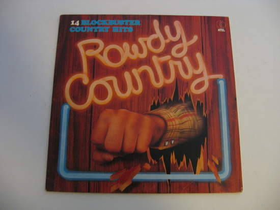 Waylon Jennings,willie Nelson - Rowdy Country - LP
