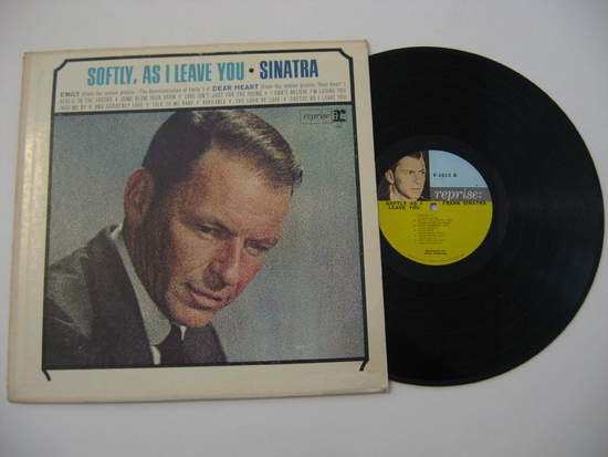 Frank Sinatra - Softly, As I Leave You - LP