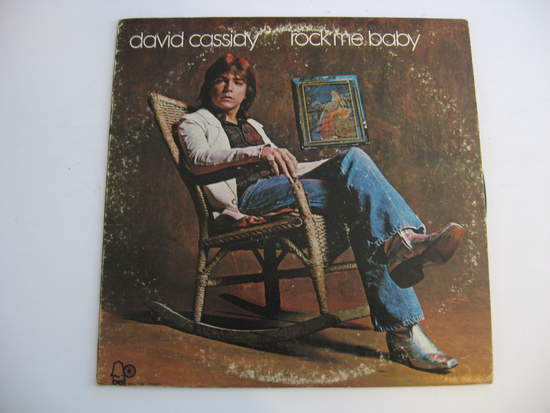 David Cassidy - Rock Me Baby - LP