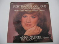 Anna Gabrieli - Portrayals Of Love - In Italian Song - LP