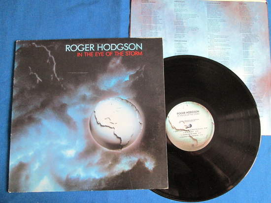 Roger Hodgson - In The Eye Of The Storm , Includes Lyric Sleeve - LP