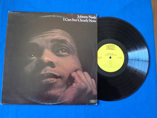 Johnny Nash - I Can See Clearly Now , 1st Press - LP