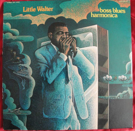 Little Walter - Boss Blues Harmonica - 2LP