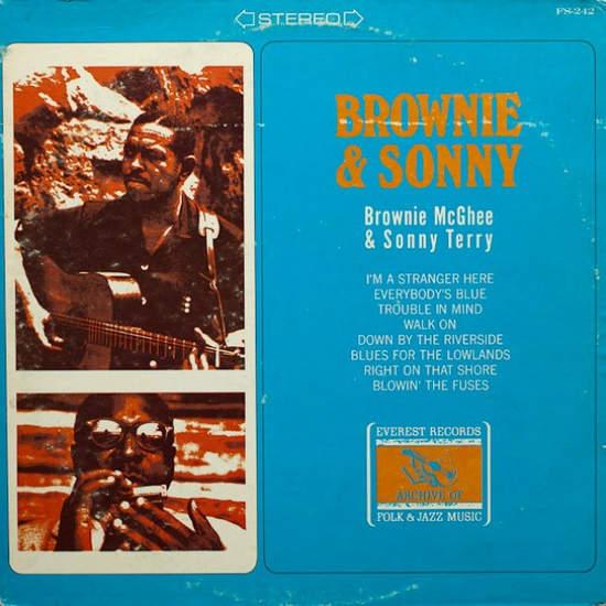 Brownie Mcghee & Sonny Terry - Brownie & Sonny - LP