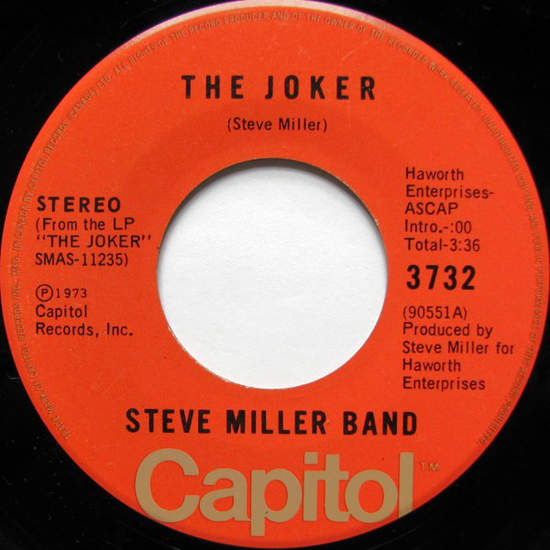 Steve Miller Band - The Joker / Something To Believe In