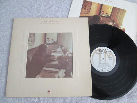 Paul Williams - Just An Old Fashioned Love Song - LP Gatefold