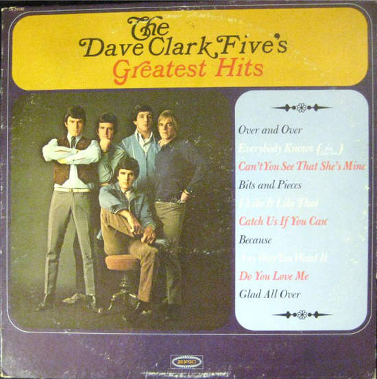 Dave Clark Five ‎ - The Dave Clark Five's Greatest Hits - Laser Disc