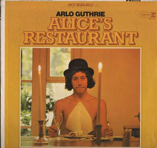 Arlo Guthrie - Alice's Restaurant - LP