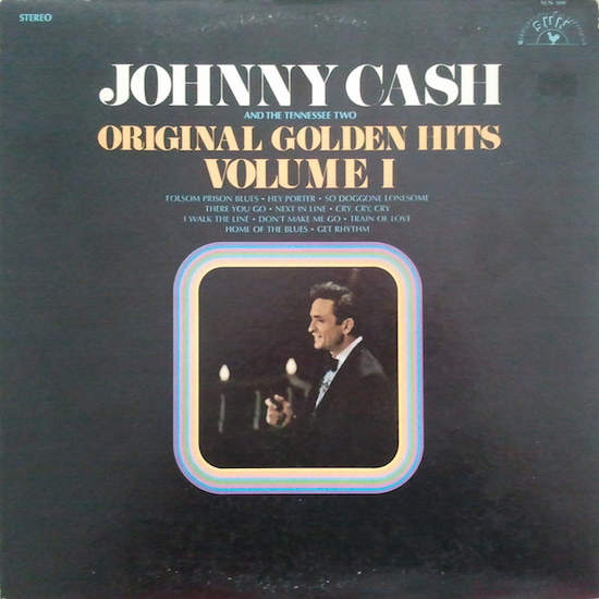 Johnny Cash & The Tennessee Two - Original Golden Hits Volume I - LP