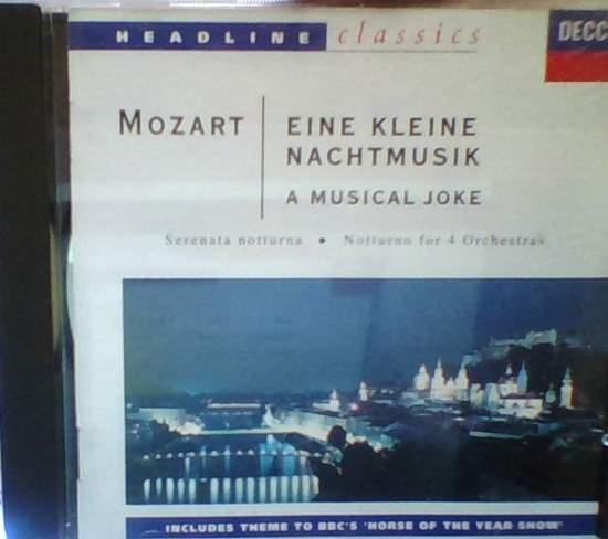 Mozart - Eine Kleine Nachtmusik - CD