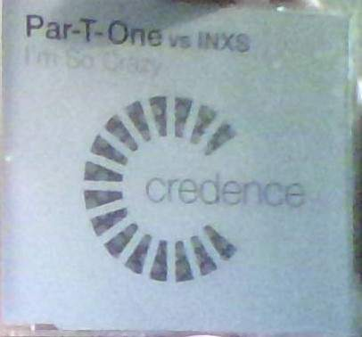 Par-t-one Vs Inxs - Credance - CD Single