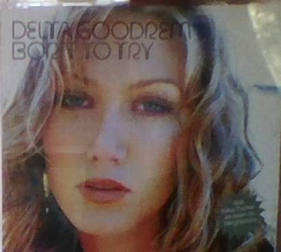 Delta Goodrem - Born To Try - CD Single