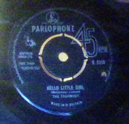 Fourmost - Hello Little Girl - 45