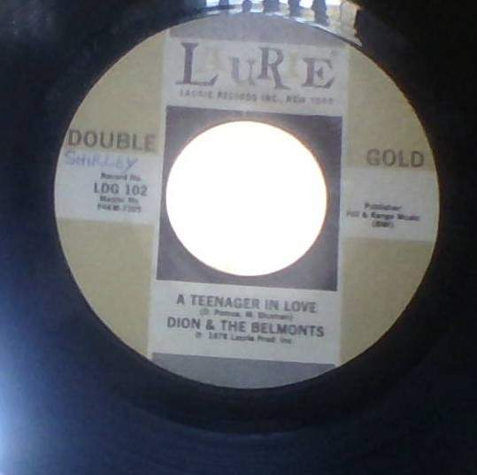 Dion & The Belmonts - A Teenager In Love - 45