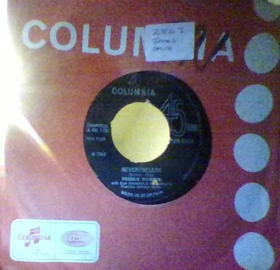 Frankie Vaughan - Girl Talk - 45