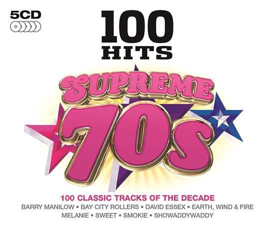 Various - 100 Hits Supreme 70s - 5CD