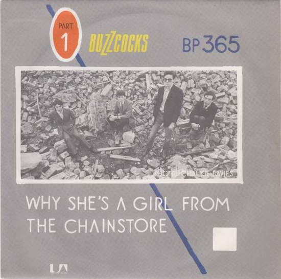 """Buzzcocks - Are Everything / Why She's A Girl From The Chainstore - 7"""""""
