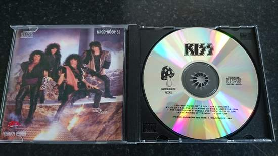 Kiss - Live In Ipswich 1984 Silver Pressed Cd - CD