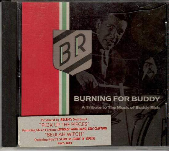 Burning For Buddy - Pick Up The Pieces - CD Single