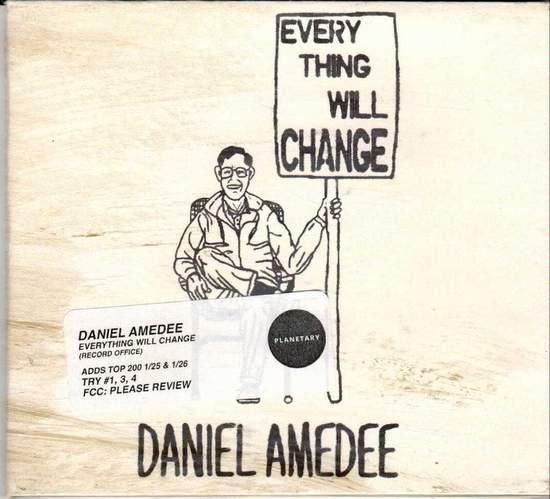 Daniel Amedee - Everything Will Change - CD EP