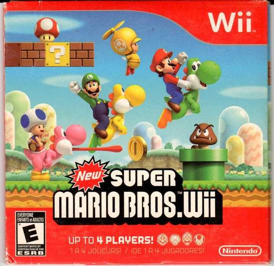 Super Mario Bros - Wii - Video Game
