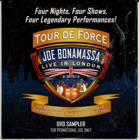 Joe Bonamassa - Tour De Force Live In London - DVD