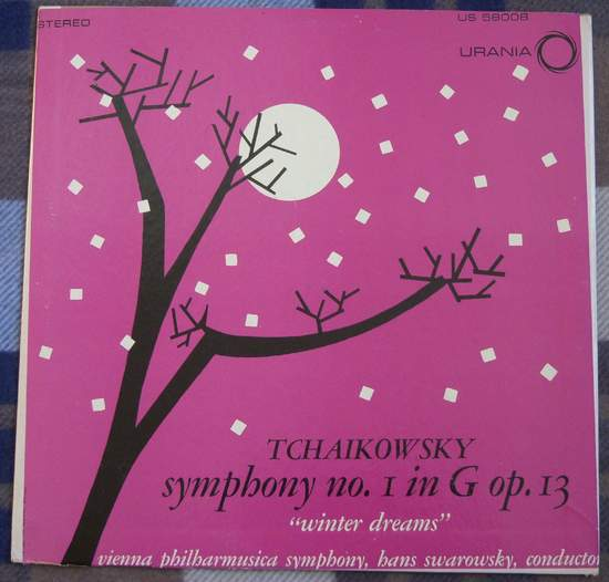 Tchaikowsky - Symphony No 1 In G Op. 13 - LP