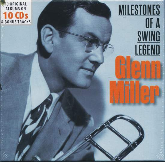 13 Original Albums  Milestones Of A Swing Legend