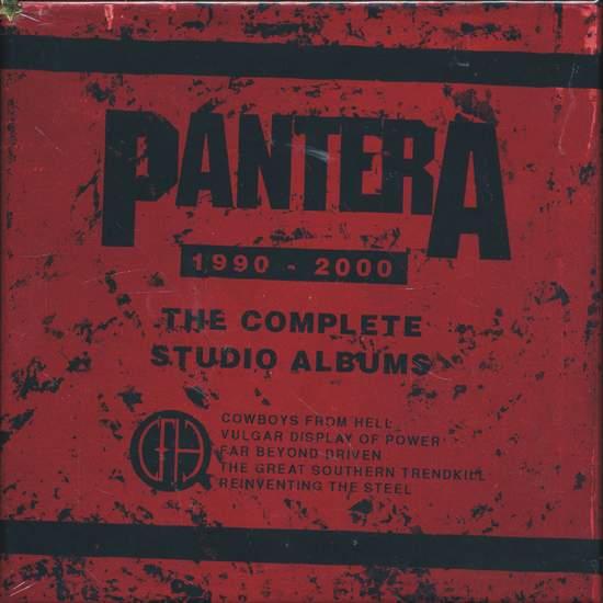 Pantera - The Complete Studio Albums 1990-2000 - 5CD