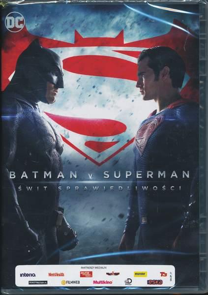 Batman V Superman Świt Śprawiedliwości - Batman V Superman Świt Śprawiedliwości - DVD