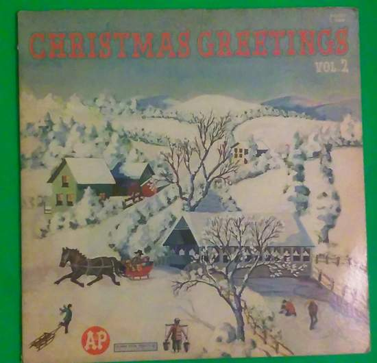 Christmas Greetings (various Artists) - Christmas Greetings Vol. 2, Columbia-c-10398, Good - LP