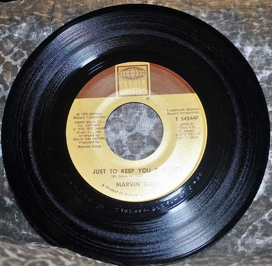 """Marvin Gaye - Just To Keep You Satisfied - 7"""""""