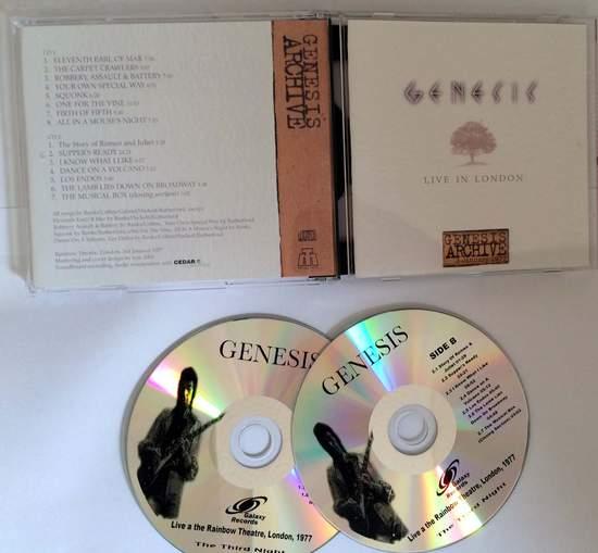 Genesis - Rainbow Theatre 1977-third Night - CD